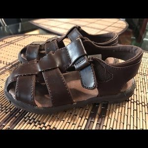 Toddler boy Perry Ellis fisherman sandals size 8